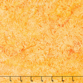 Fiery Sunset Batiks - Yarn Yellow Orange Yardage