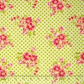 Handmade - Gwendolyn Green Yardage