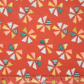 Mixed Bag 2017 - Pinwheels Cheery Flannel Yardage