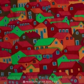 Kaffe Collective - Spicy Palette Shanty Town Autumn Yardage