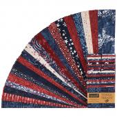 """Tonga Treats Batiks - Firework 2.5"""" Strips"""