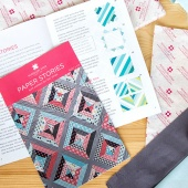 "Paper Stories Bundle - Pattern and 10"" Piecing Squares"