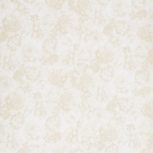 "Beckford Terrace - Flowers Natural 108"" Wide Backing"
