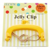 """JELLY CLIP 4"""" YELLOW"""