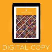 Digital Download - 4-Patch Lattice Quilt Pattern by Missouri Star