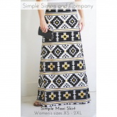 Simple Maxi Skirt Pattern