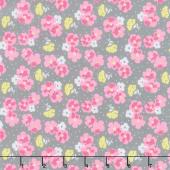 Paper Daisies - Posy Gray Yardage