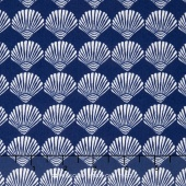 Tide Pool - Scallop Shells Royal Yardage