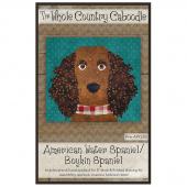 American Water Spaniel/Boykin Spaniel Precut Fused Appliqué Pack