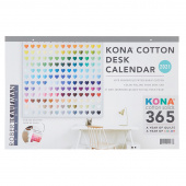 Kona® Cotton Solids 2021 Desk Calendar