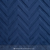 "Cuddle Embossed Chevron - Navy 60"" Yardage"
