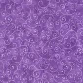 Moda Marble Swirls - Key West Purple Yardage