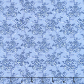 Blue Byrd - Floral Spray Wedgewood Yardage