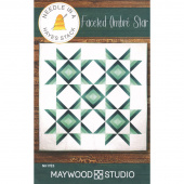 Faceted Ombre Star Pattern