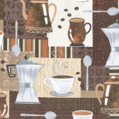 Dark Roast - Coffee Time Mocha Yardage