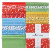 """Storybook Flannel 10"""" Squares"""