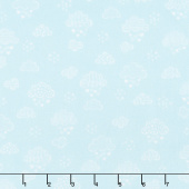 Sweet Dreams - Dreamy Clouds Aqua Yardage