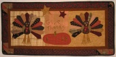 Dresden Turkey Mini-Quilt / Wall Hanging Pattern