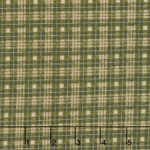 Moose Lake - Plaid Dark Green Yardage