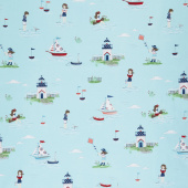 Seaside - Main Aqua Yardage