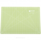 "Lori Holt's Cutting Mat - 12"" x 18"" Green/Aqua"