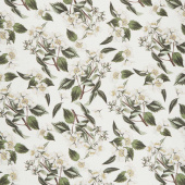 Gingham Farm - Botanical Cream Yardage