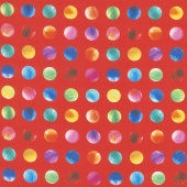 Gradients 2 - Sunrise Dots Digitally Printed Yardage