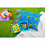 Pete the Cat Fabric Book and MSQC Pillowcase Kit