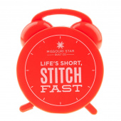 Clock Measuring Tape - Life's Short, Stitch Fast