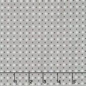 Bee Basics - Polka Dot Gray Yardage