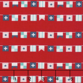 Seaside - Flags Red Yardage