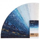 "Tonga Batiks - Blue Moon 2.5"" Strips"