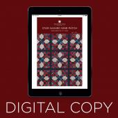 Digital Download - Star Sashed Nine-Patch Quilt Pattern by Missouri Star