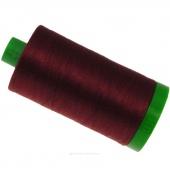 Aurifil 40 WT Cotton Mako Large Spool Thread Dark Carmine Red