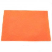 "Rainbow Classic 9"" x 12"" Felt Squares Orange"