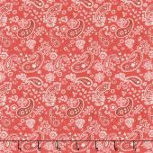 Homemade Happiness - Paisley Red Yardage
