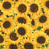 Sunflower Farm - Packed Sunflowers Yardage