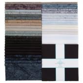 """Lava Batik Solids - Eclipse 10"""" Squares"""