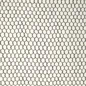 In the Kitchen - Chicken Wire White Yardage