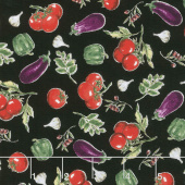 Bella Toscana - Vegetables Nero Yardage