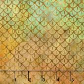 Islander Batiks - Scales Rainbow Yardage