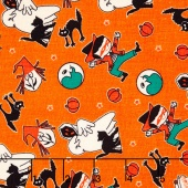 Trick or Treat - Treat Toss Orange Yardage