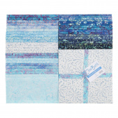"Java Batiks Favorites Blues 10"" Squares"