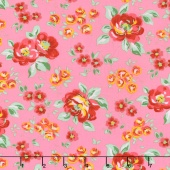 Love & Friendship - Friendship Garden Blush Yardage