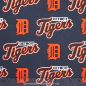MLB Major League Baseball - Detroit Tigers Allover Yardage