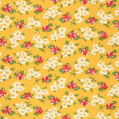 It's Elementary - Garden Blooms Yellow Yardage