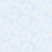 Wilmington Essentials - Circle Burst Sky Blue Yardage