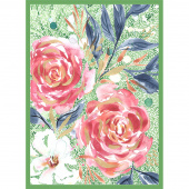 Moody Bloom - Dashing Darling Multi Digitally Printed Panel