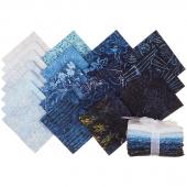 Tonga Batiks - Blue Moon Fat Quarter Bundle