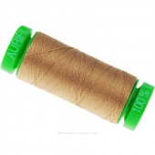 Aurifil 40 WT 100% Cotton Mako Spool Thread - Cafe' au Lait